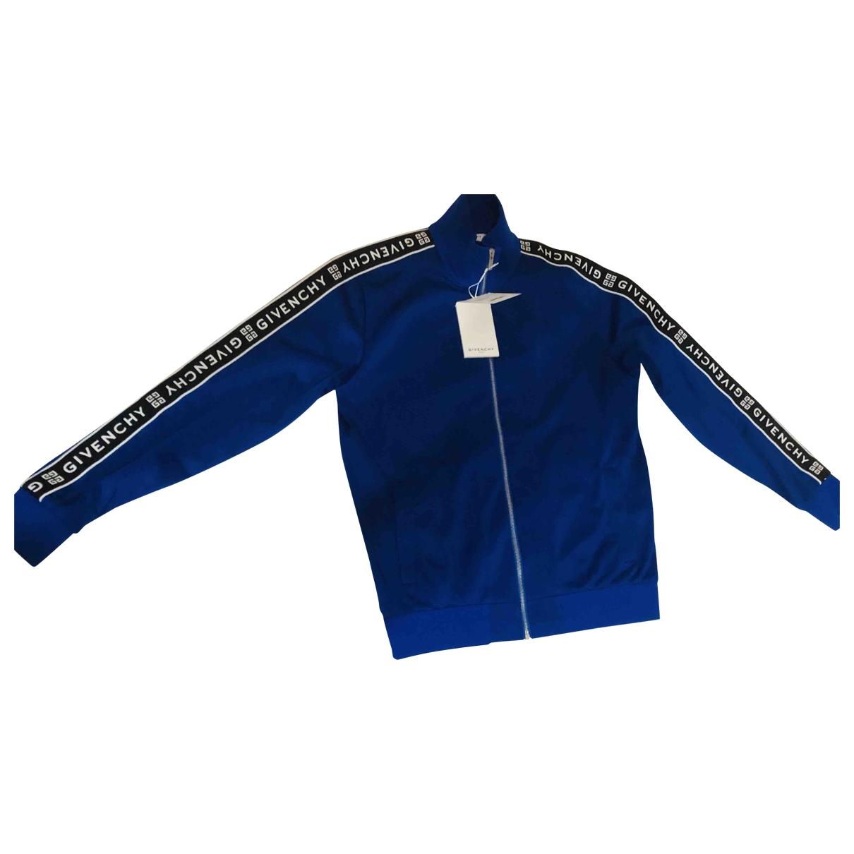Givenchy \N Jacke in  Blau Polyester
