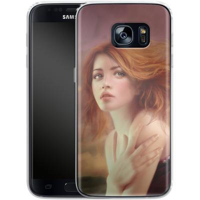 Samsung Galaxy S7 Silikon Handyhuelle - Melanie Delon - Hope von TATE and CO