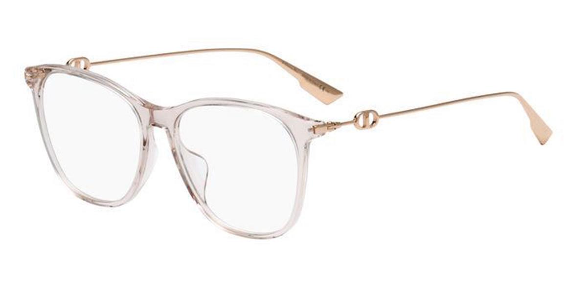 Dior DIOR SIGHTO3 FWM Women's Glasses Brown Size 55 - Free Lenses - HSA/FSA Insurance - Blue Light Block Available