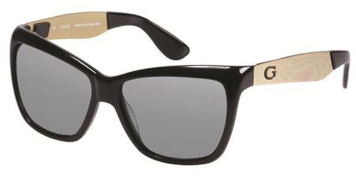 Guess GU 7371 C33 Women's Sunglasses Gold Size 57