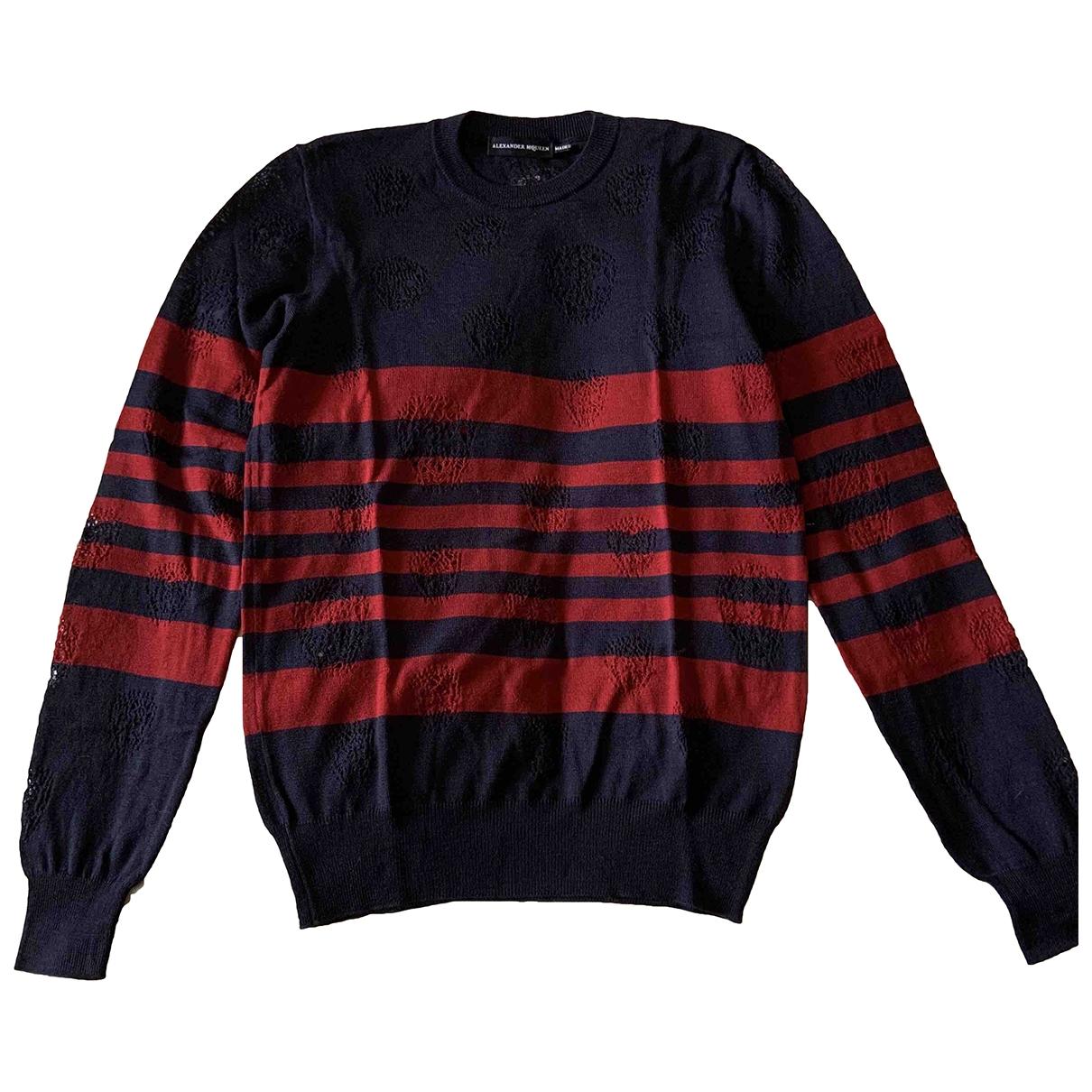 Alexander Mcqueen \N Pullover.Westen.Sweatshirts  in  Bunt Wolle