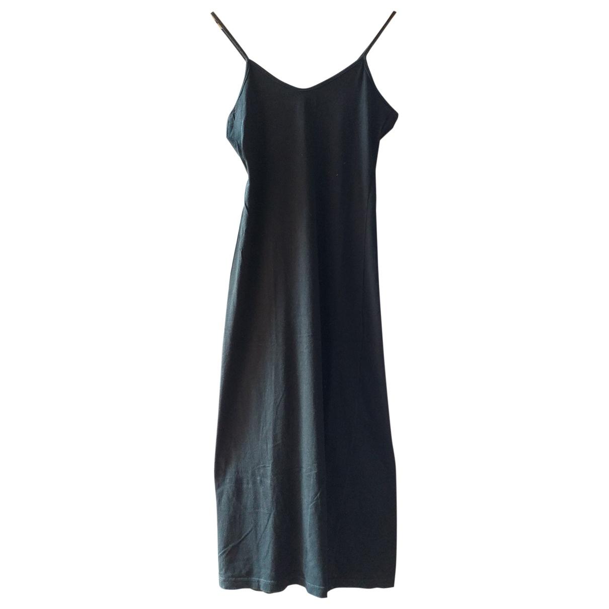 Irie \N Kleid in  Schwarz Baumwolle