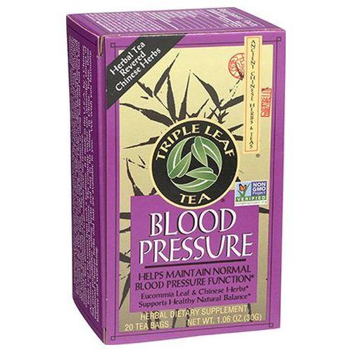 Blood Pressure Tea 20 Bags by Triple Leaf Tea
