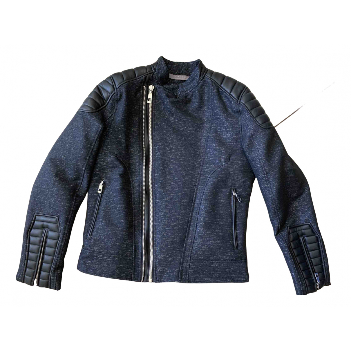 Zara \N Blue jacket  for Men M International