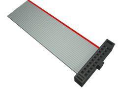 Samtec FFSD Ribbon Cable Assembly, IDC Socket to IDC Socket (22)