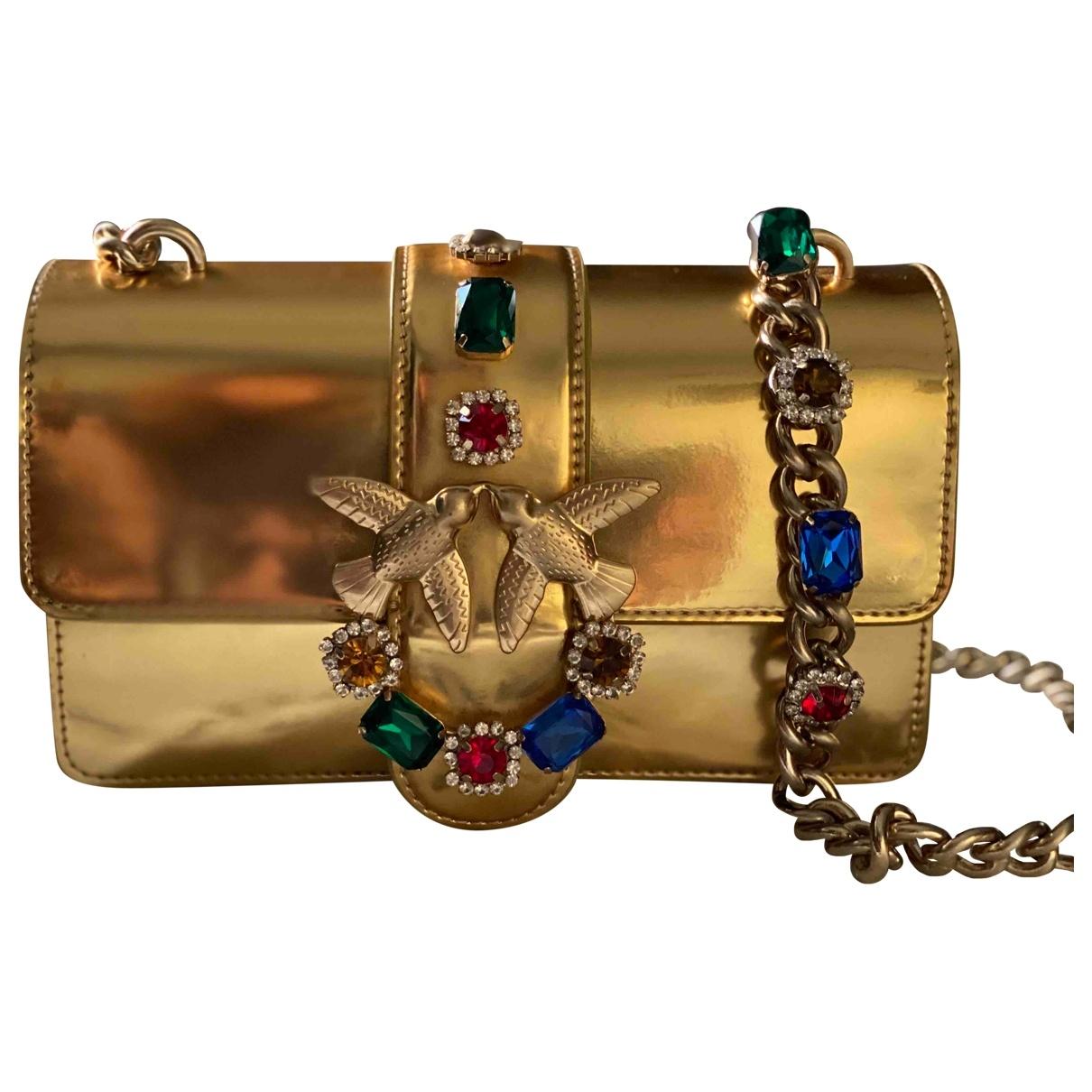 Bolso baguette Love Bag de Cuero Pinko