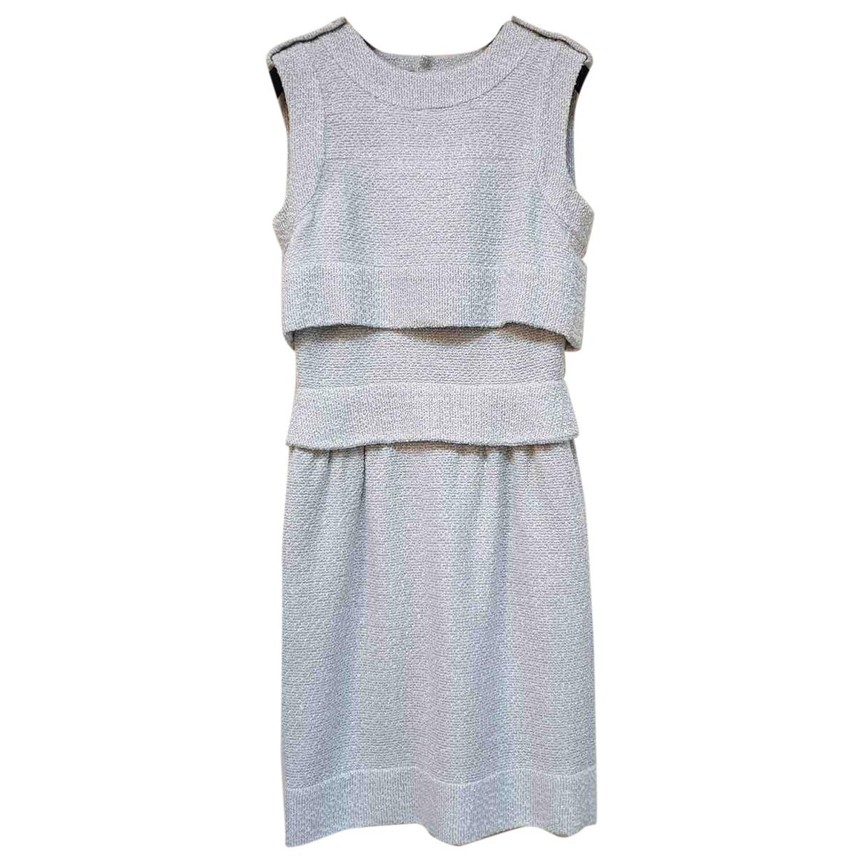 Chanel - Robe   pour femme - gris
