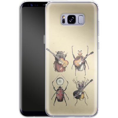 Samsung Galaxy S8 Plus Silikon Handyhuelle - Meet The Beetles von Eric Fan