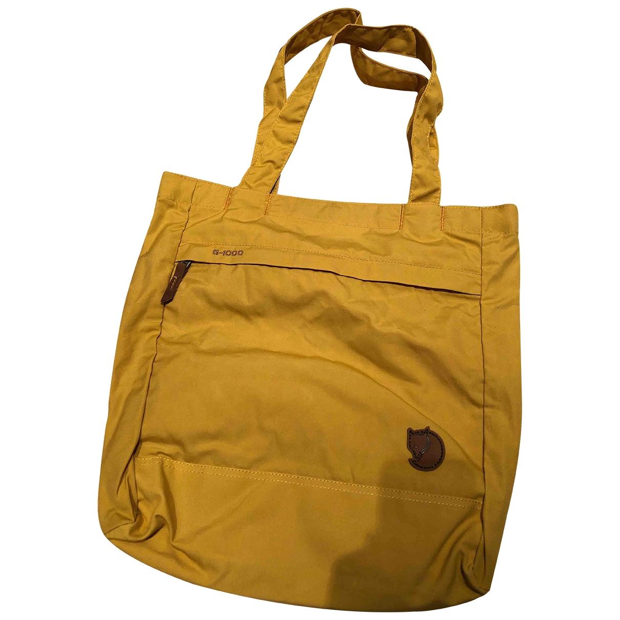 Fjallraeven - Sac a main   pour femme en coton - jaune