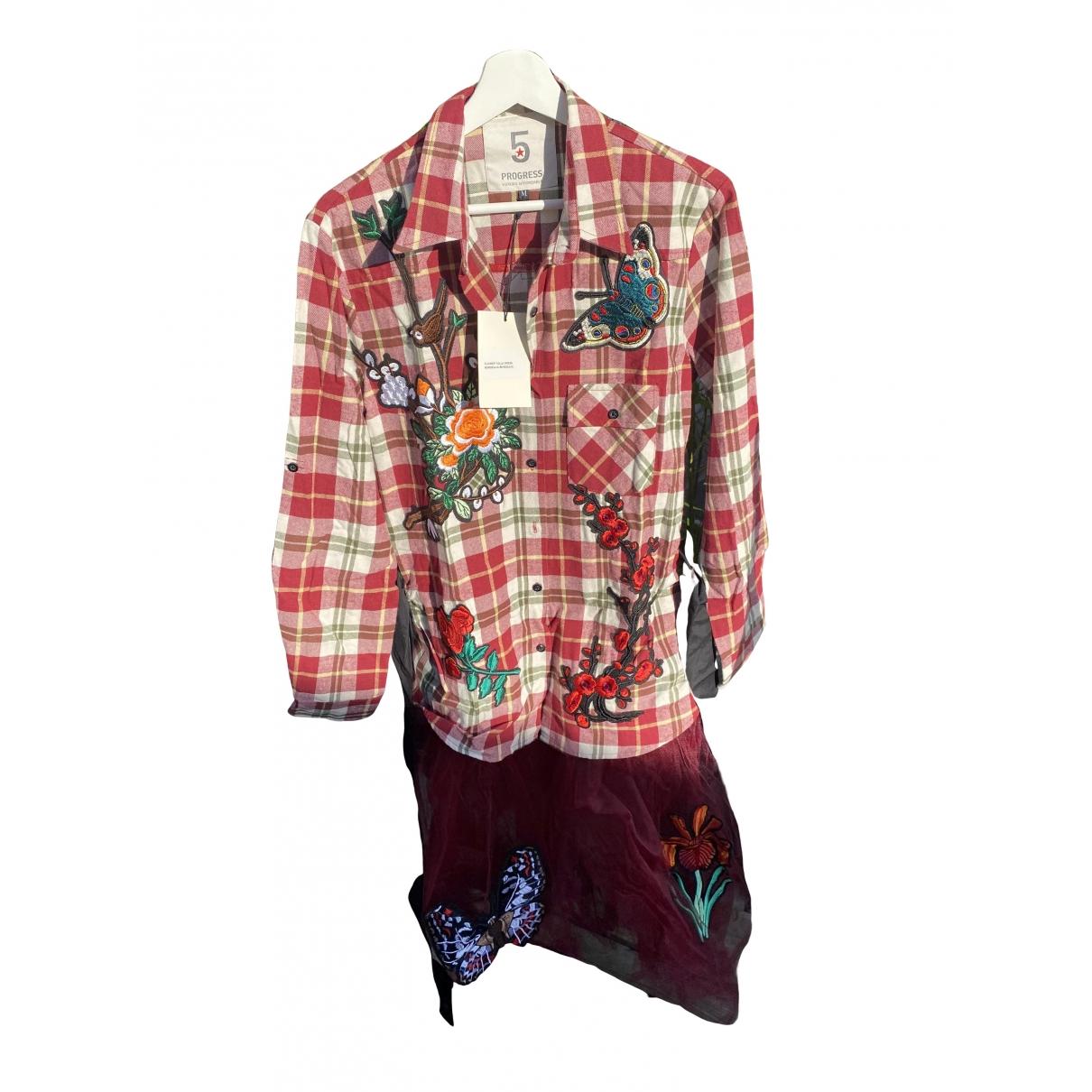 - Combinaison   pour femme en coton - multicolore