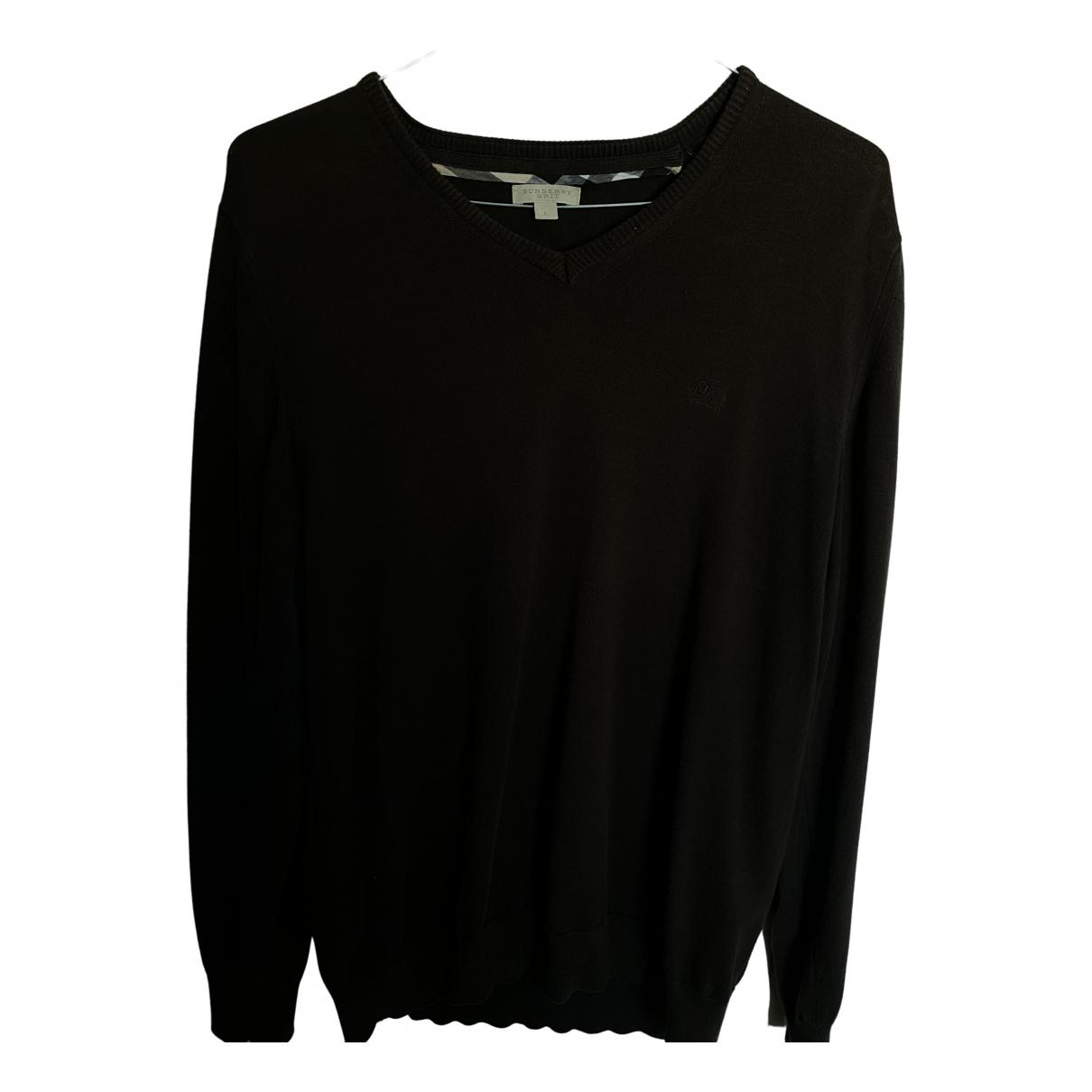 Burberry \N Pullover.Westen.Sweatshirts  in  Braun Baumwolle