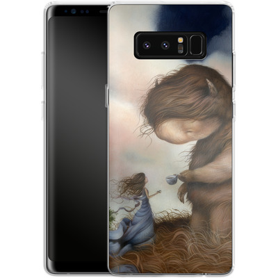 Samsung Galaxy Note 8 Silikon Handyhuelle - Kindered Spirits von Dan May