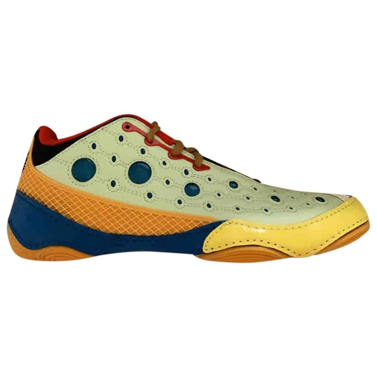 Asics X Kiko Kostadinov \N Sneakers in  Gelb Lackleder