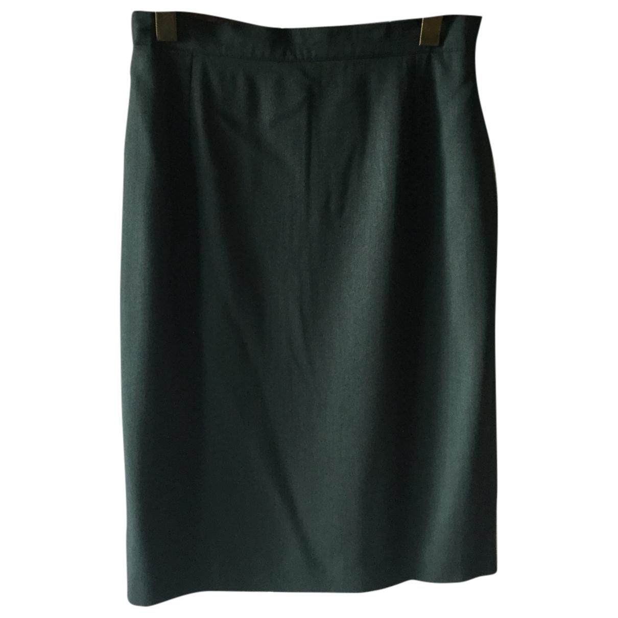 Cerruti - Jupe   pour femme en laine - vert