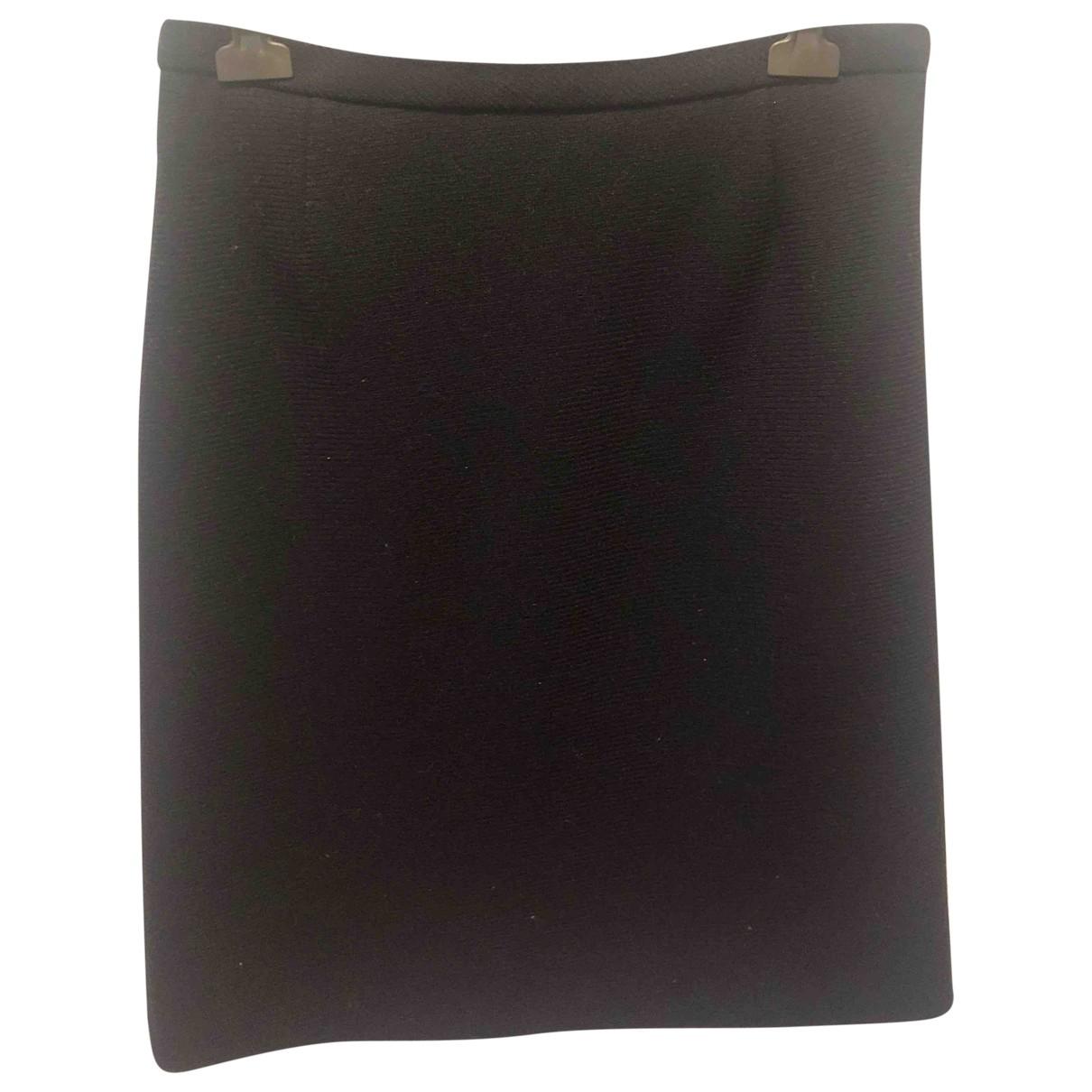 Falda midi de Lana Louis Vuitton