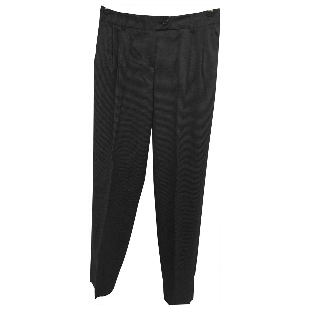 Moschino Cheap And Chic - Pantalon   pour femme en laine - gris