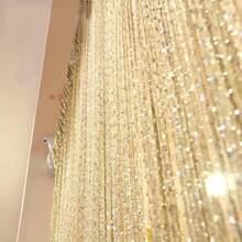 1 Stueck Vorhang mit Quasten