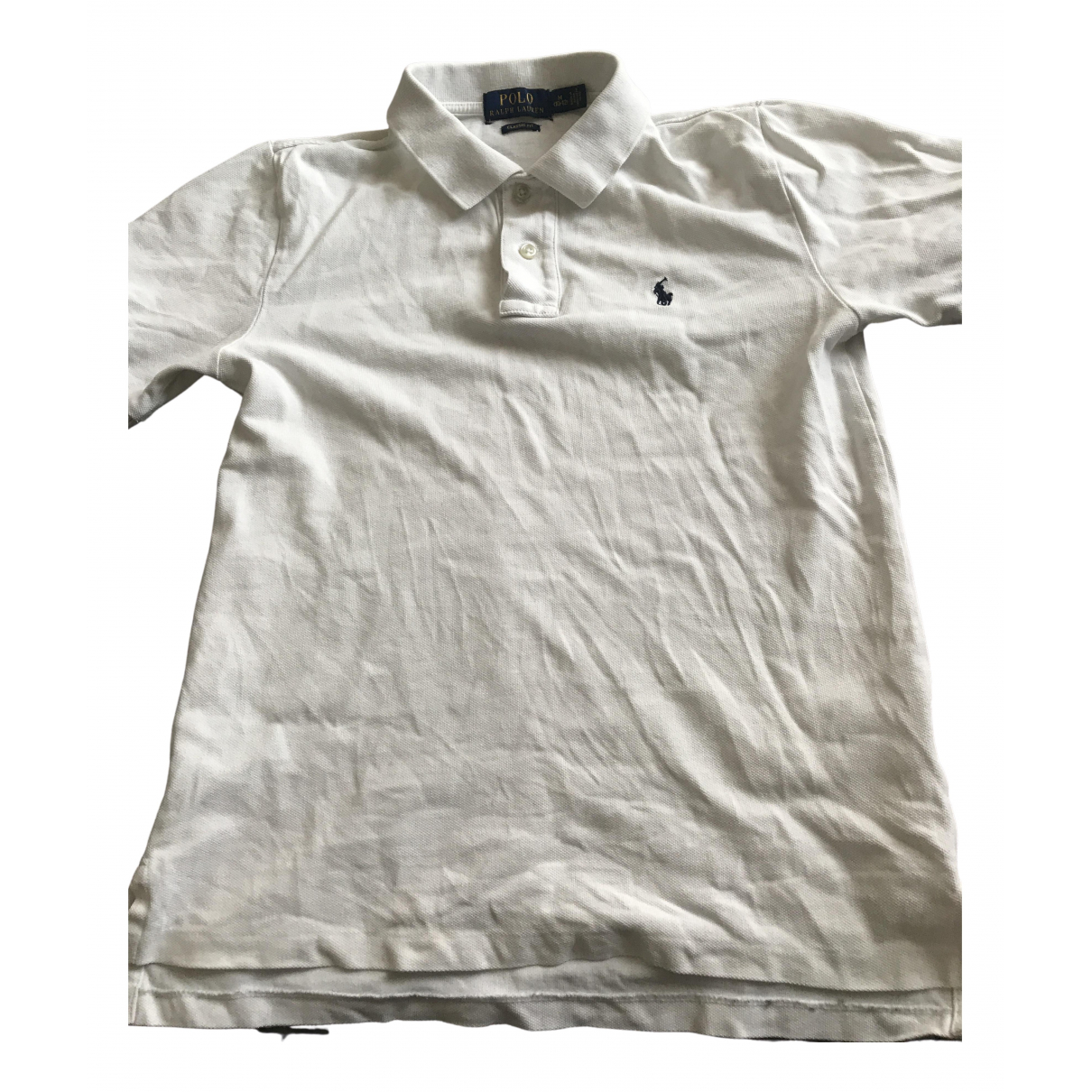 Polo Ralph Lauren Polo classique manches courtes Poloshirts in  Weiss Baumwolle