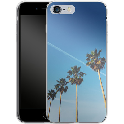 Apple iPhone 6 Plus Silikon Handyhuelle - Palm Tree Paradise von Omid Scheybani