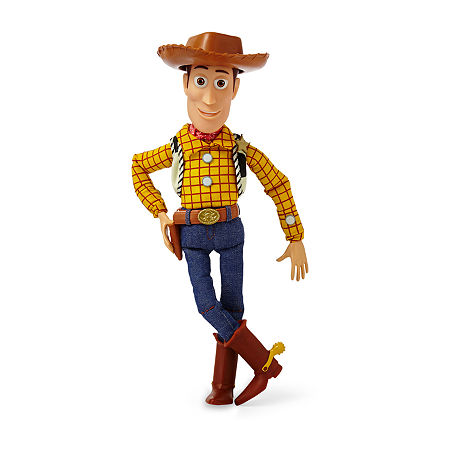 Disney Collection Toy Story Woody Talking Action Figure, One Size , No Color Family