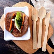3pcs Wooden Cutlery Set