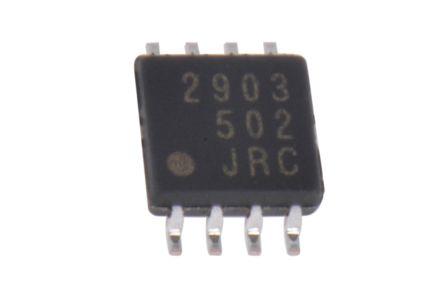 New Japan Radio NJM2903RB1-TE1 , Dual Comparator, Open Collector O/P, 1.5μs 3 → 28 V 8-Pin TVSP (5)