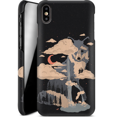 Apple iPhone XS Max Smartphone Huelle - At the foot of fox mountain von ND Tank