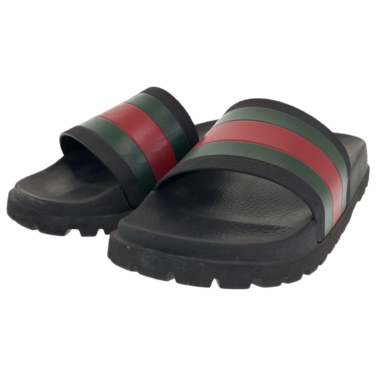 Gucci N Rubber Sandals for Men 10 US
