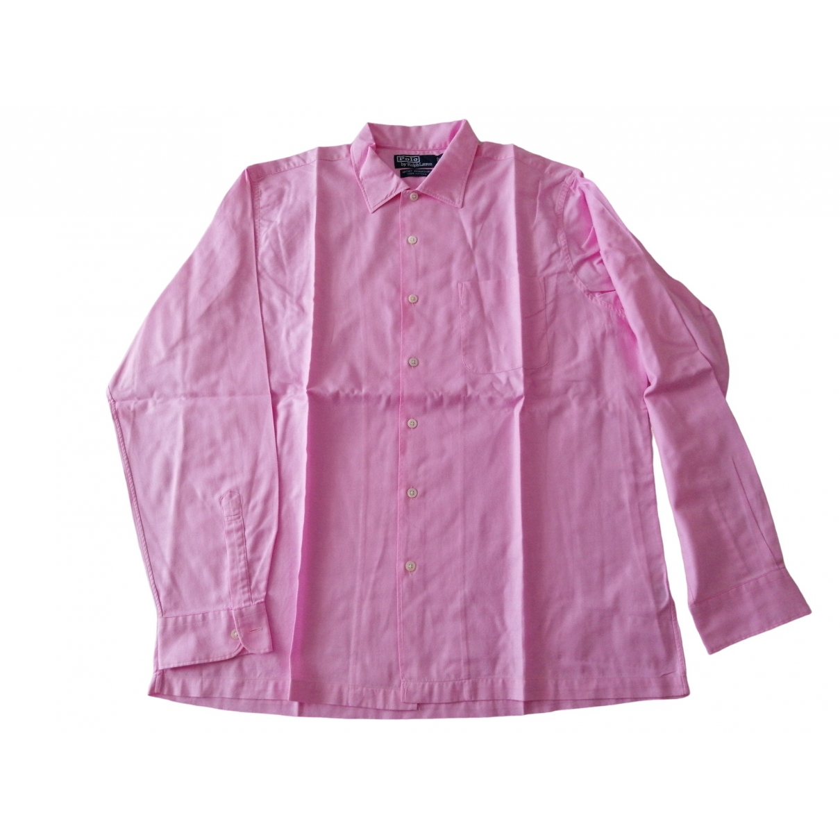 Polo Ralph Lauren \N Pink Cotton Shirts for Men M International