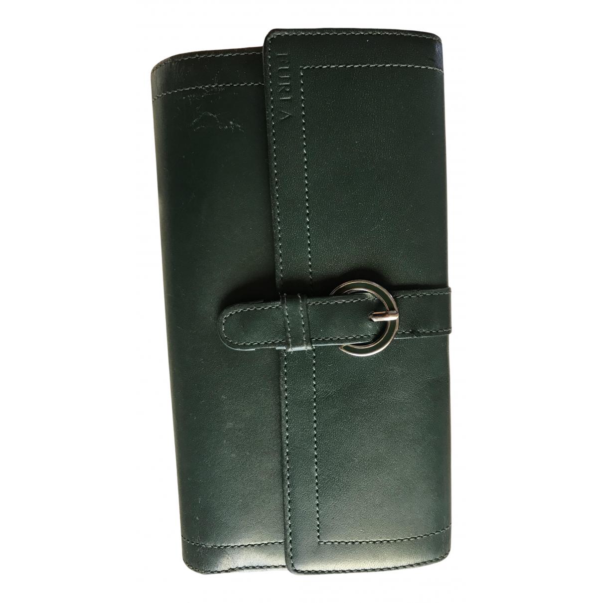 Furla - Portefeuille   pour femme en cuir - vert