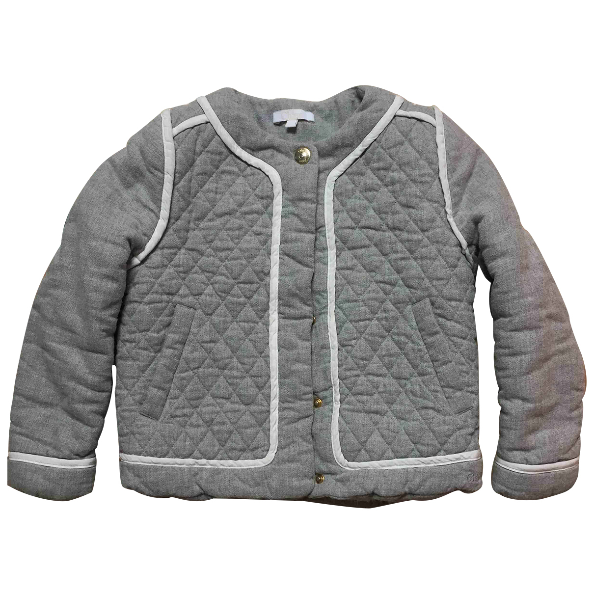 Chloé N Grey Cotton jacket & coat for Kids 5 years - up to 108cm FR