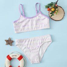 Bañador bikini de canale de tie dye