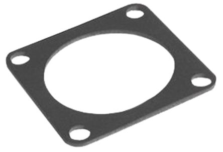 Souriau UTFD Flange Gasket, Shell Size 8 for use with UTP-UTG-UT0-UT0W