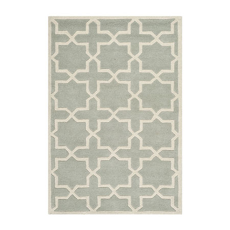 Safavieh Celestine Geometric Hand Tufted Wool Rug, One Size , Gray