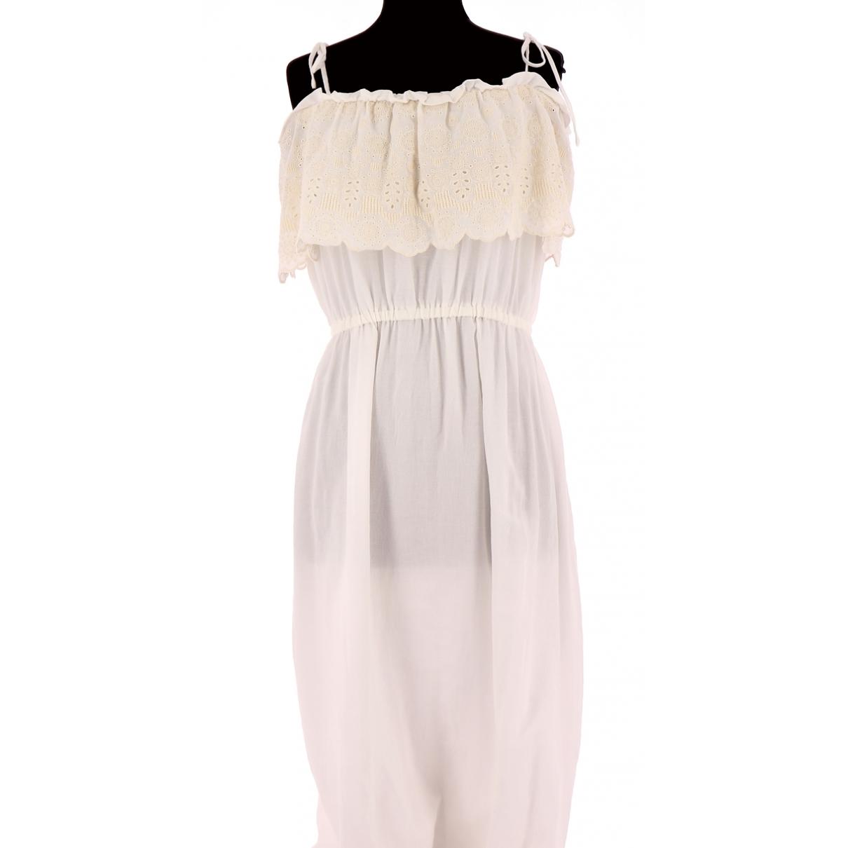 Comptoir Des Cotonniers \N Kleid in  Weiss Baumwolle