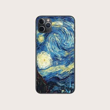 1pc Starry Sky Painting iPhone Case