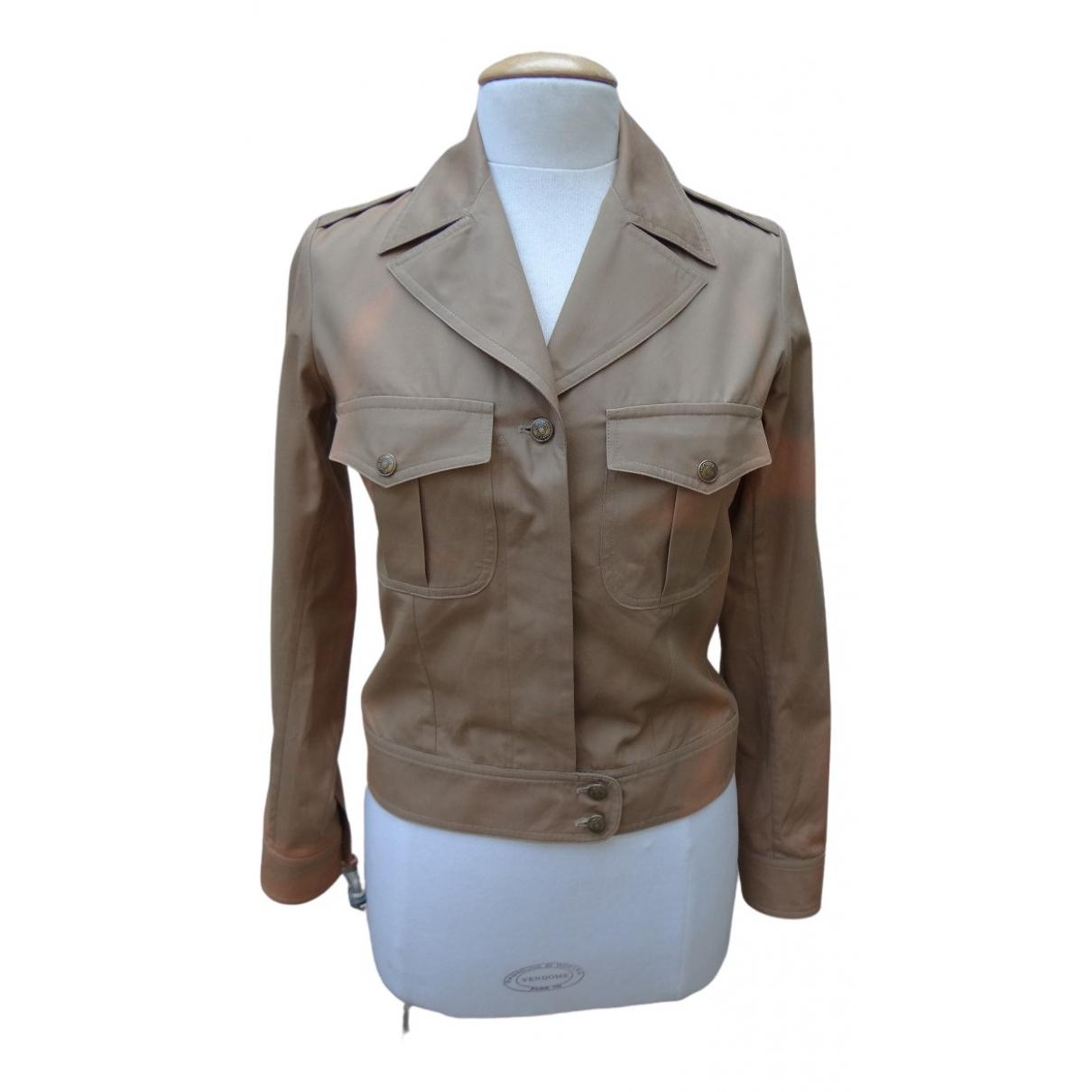 Dior - Veste   pour femme en coton - kaki