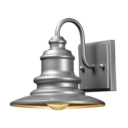 47020/1 Marina 1 Light Outdoor Sconce in Matte