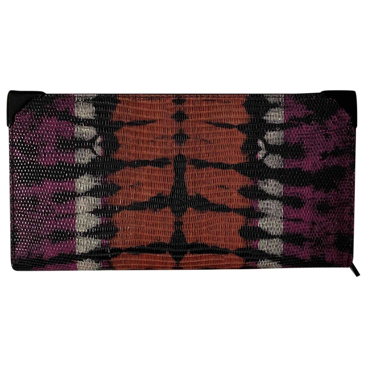 Alexander Wang \N Purple Leather wallet for Women \N