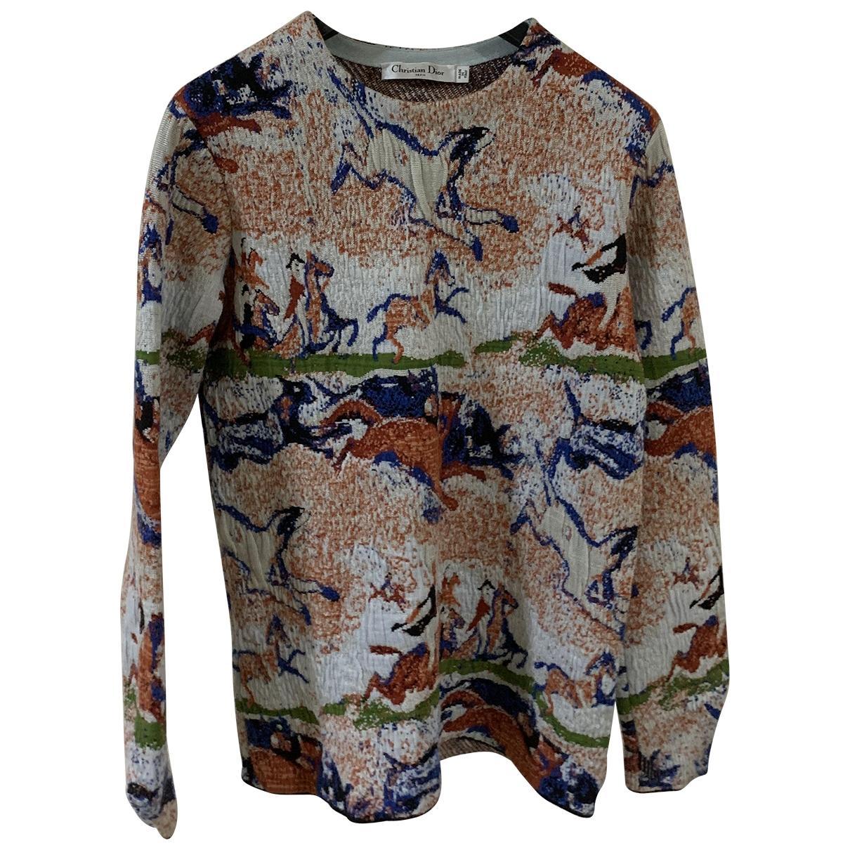 Dior \N Multicolour Cotton  top for Women 34 FR