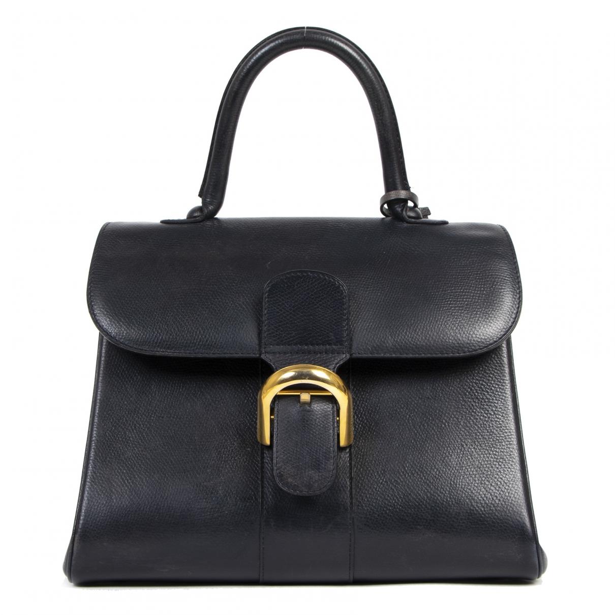 Delvaux Le Brillant Blue Leather handbag for Women \N