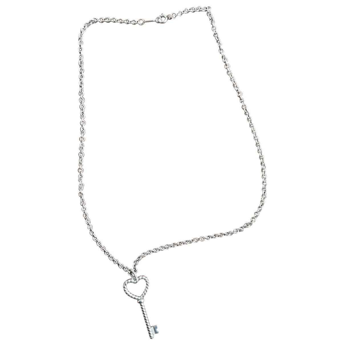 Tiffany & Co - Collier Cles Tiffany pour femme en argent