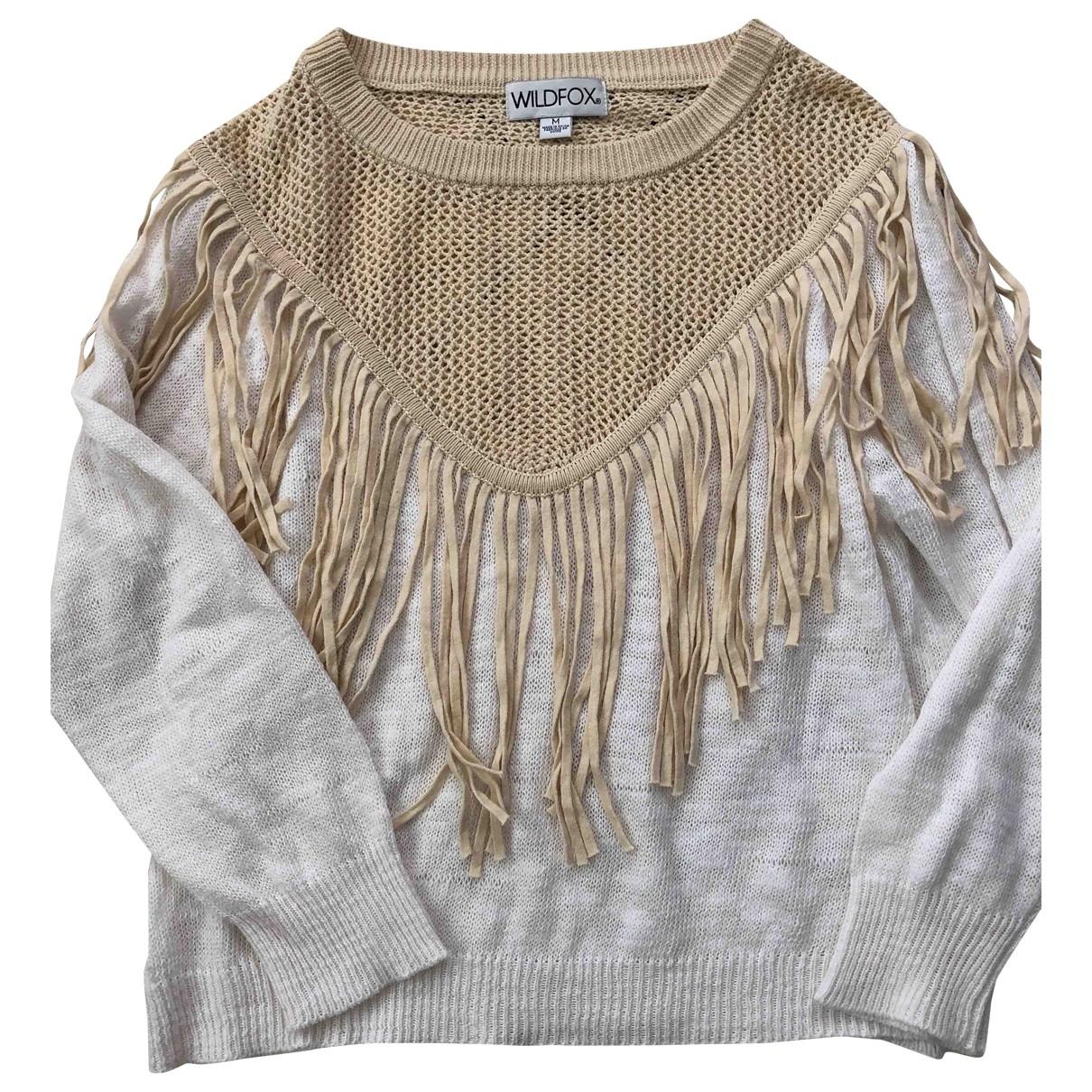 Wildfox \N Beige Cotton Knitwear for Women M International