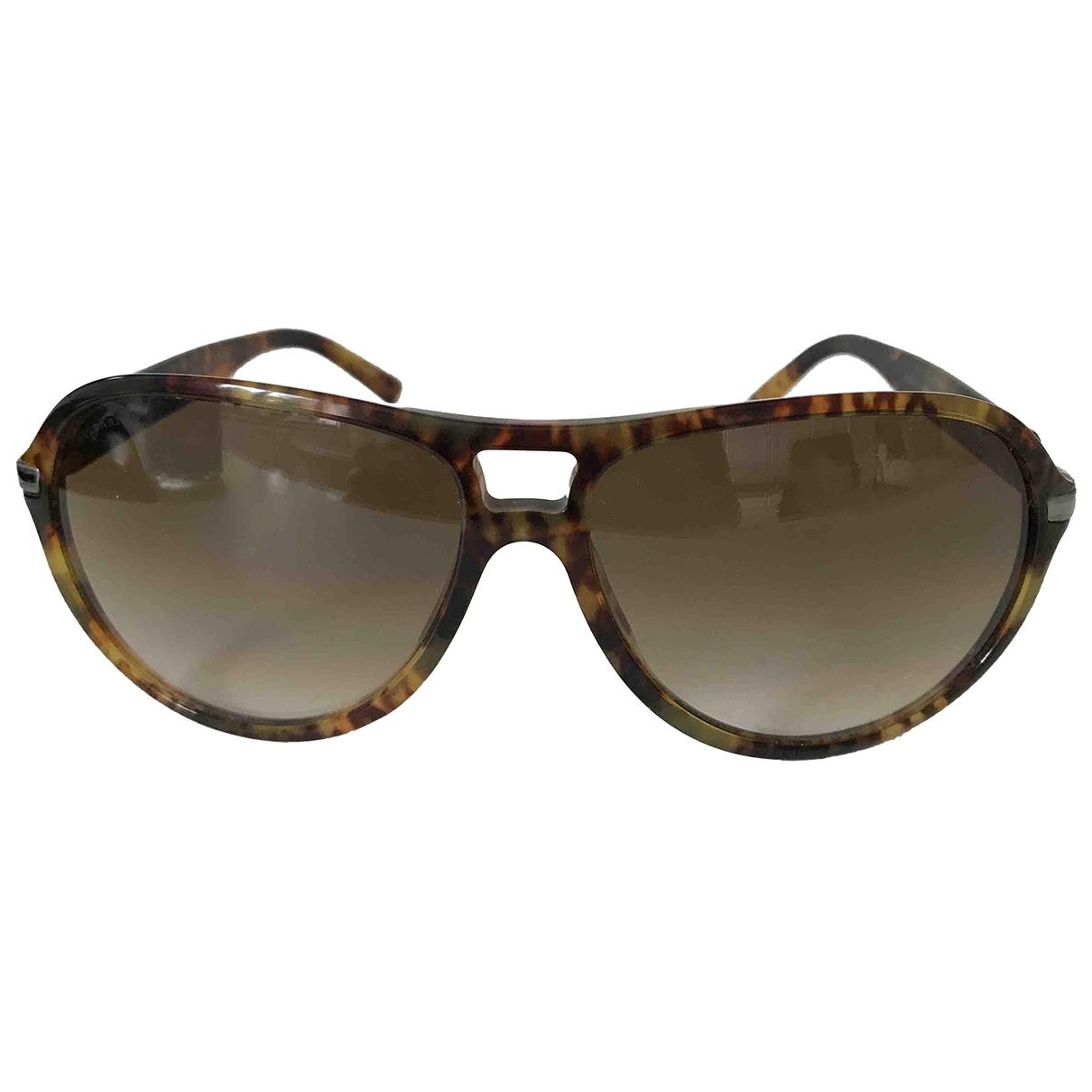 Bvlgari \N Sonnenbrillen in  Braun Kunststoff