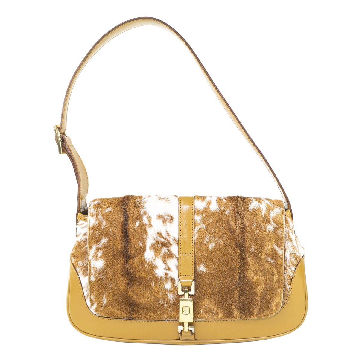 Gucci Jackie Vintage  Beige Pony-style calfskin handbag for Women N