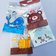 50 piezas bolsa con dibujos animados