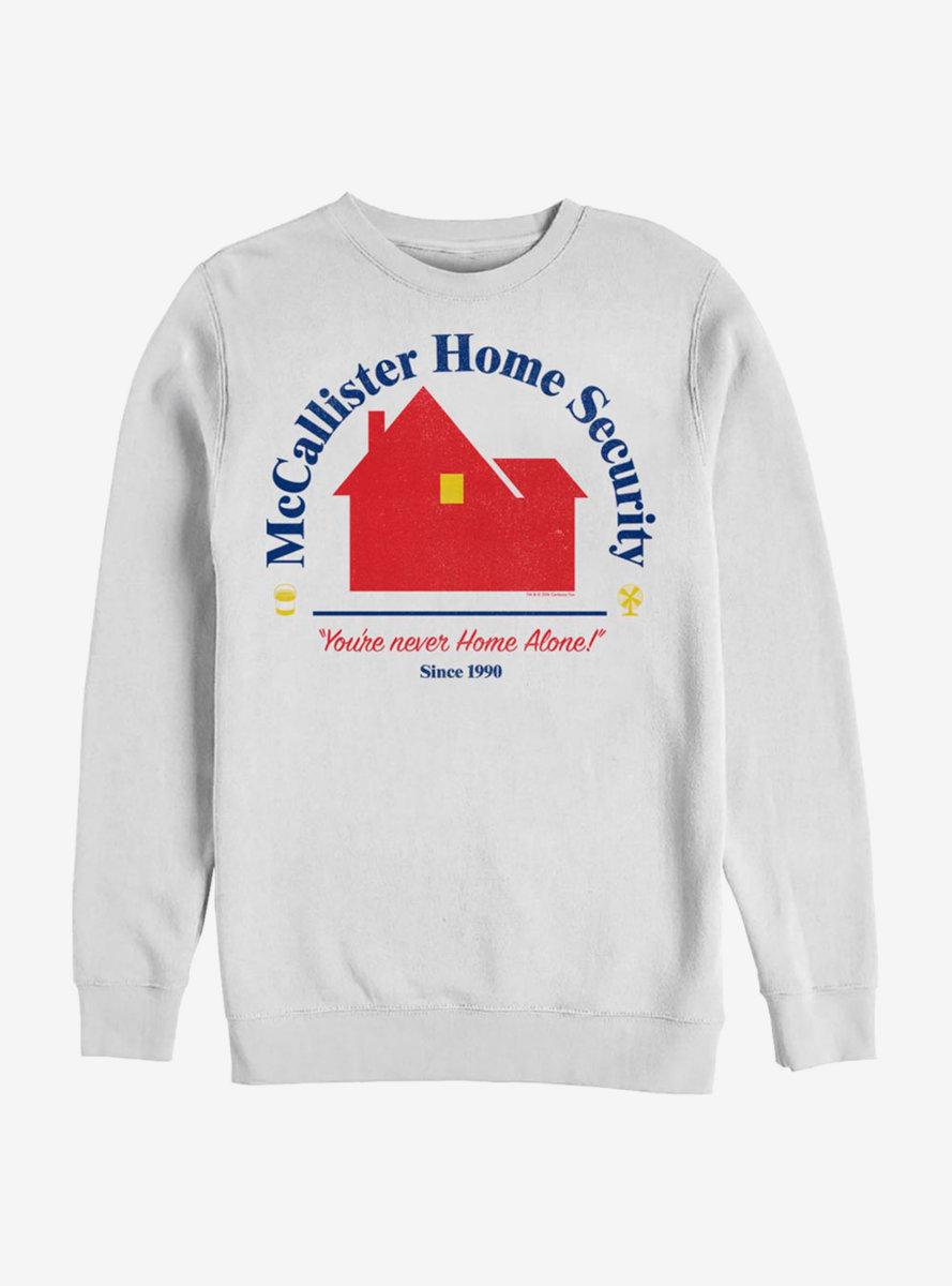 Home Alone Home Security Sweatshirt