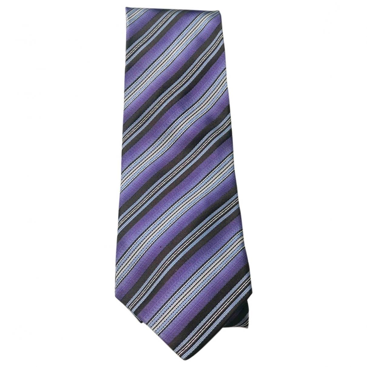 Ermenegildo Zegna - Cravates   pour homme en soie - violet