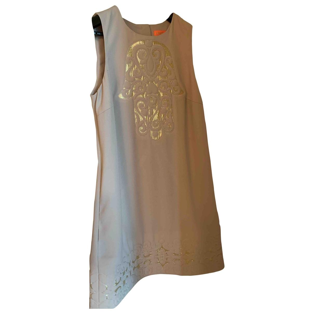 Manoush - Robe   pour femme - beige