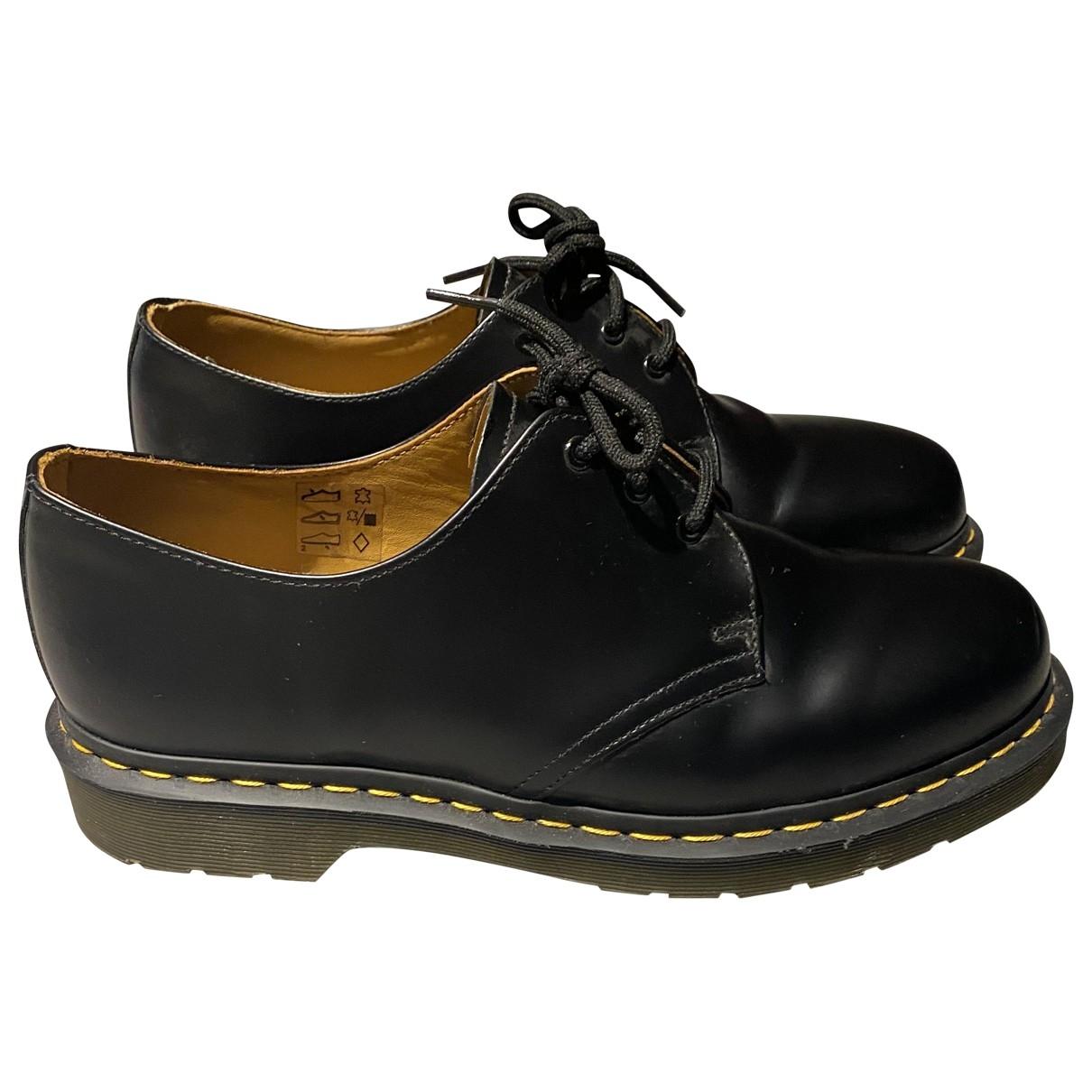 Dr. Martens - Derbies   pour homme en cuir - noir